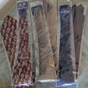 Classic Tasteful Tie Bundle of 3! NWOT